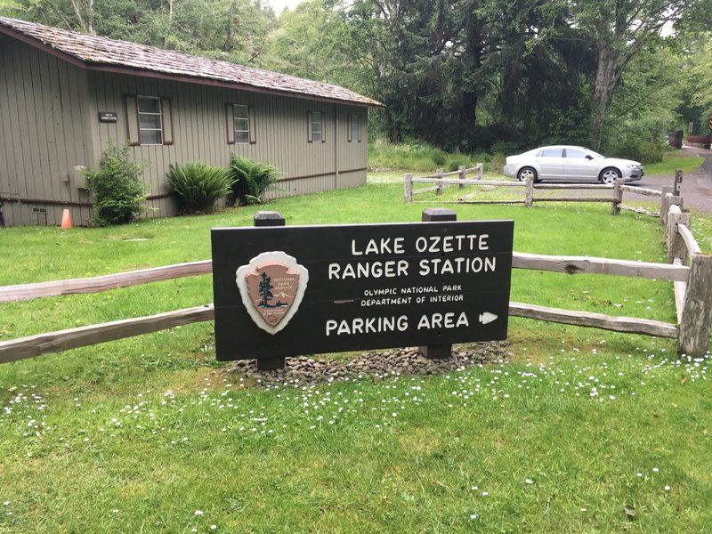 Lake Ozette Ranger Station.