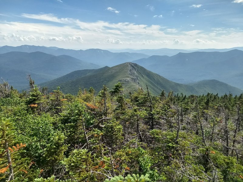 Taken from summit of Mount Bond, looking south to Bondcliff Trail