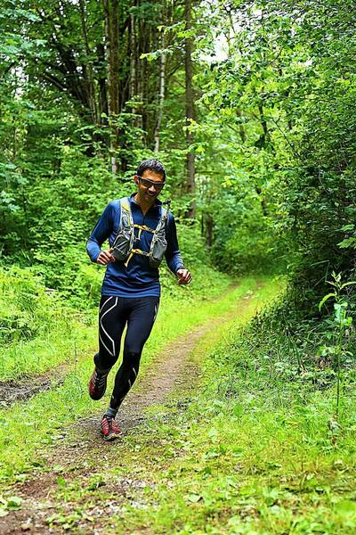 Trail running through the Taylor Mountain Forest (Photo Credit: Evergreen Trail Runs)
