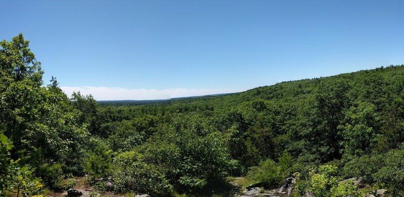 View from Cedar Hill