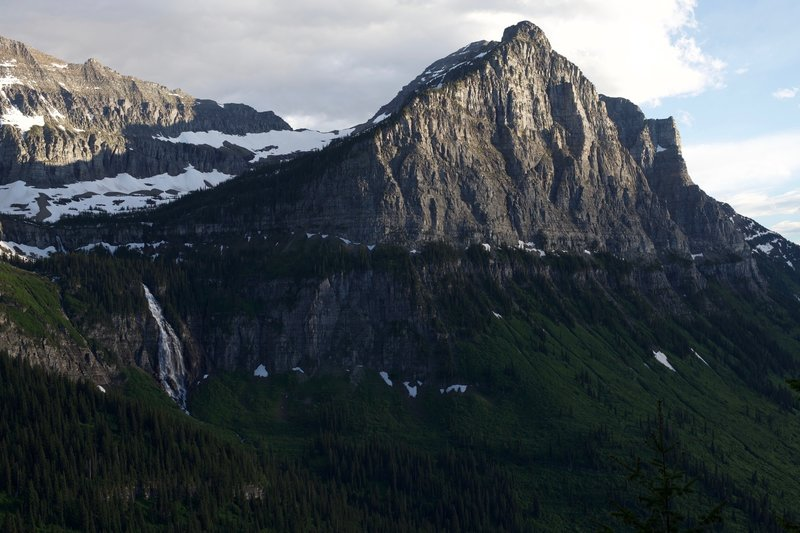 Bird Woman Falls from the Going to the Sun Road.