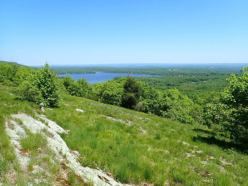 View of Culver Lake from Appalachian Trail (May)