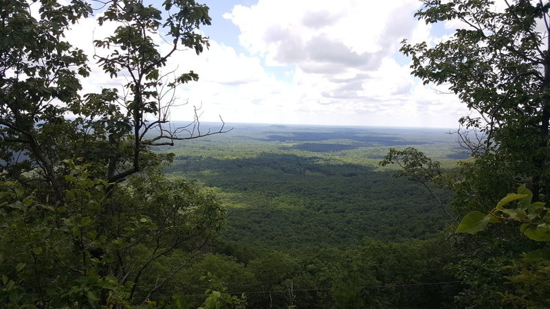 A view off the Rocktop trail.