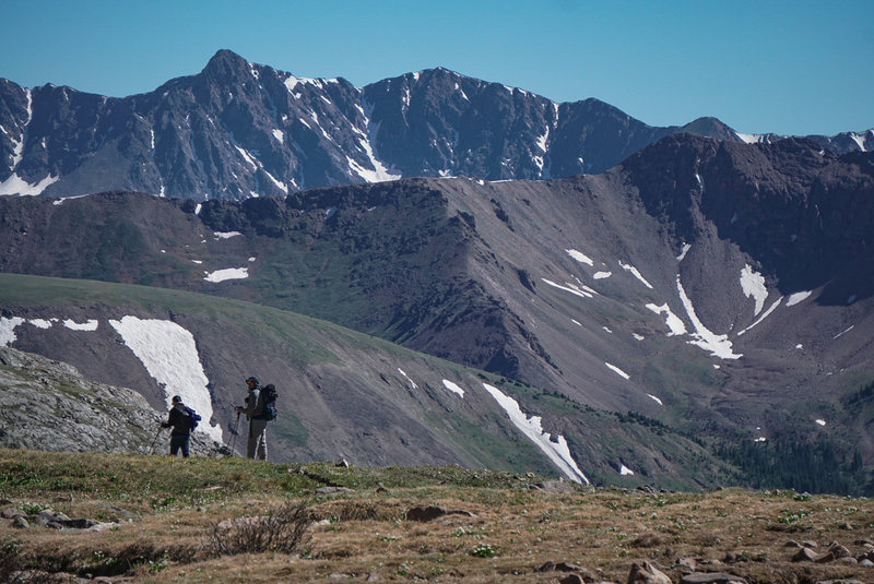 Views abound in every direction above the treeline.