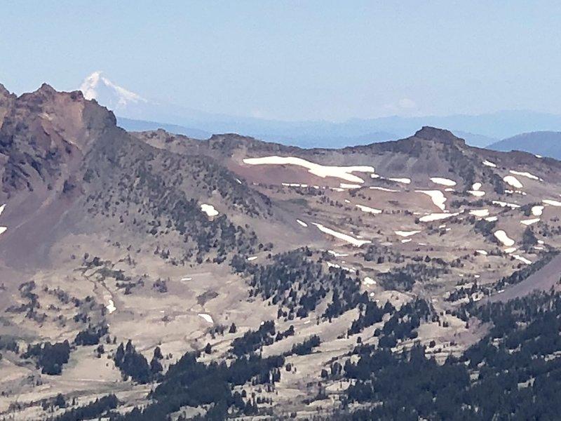 Mount Hood and Adams