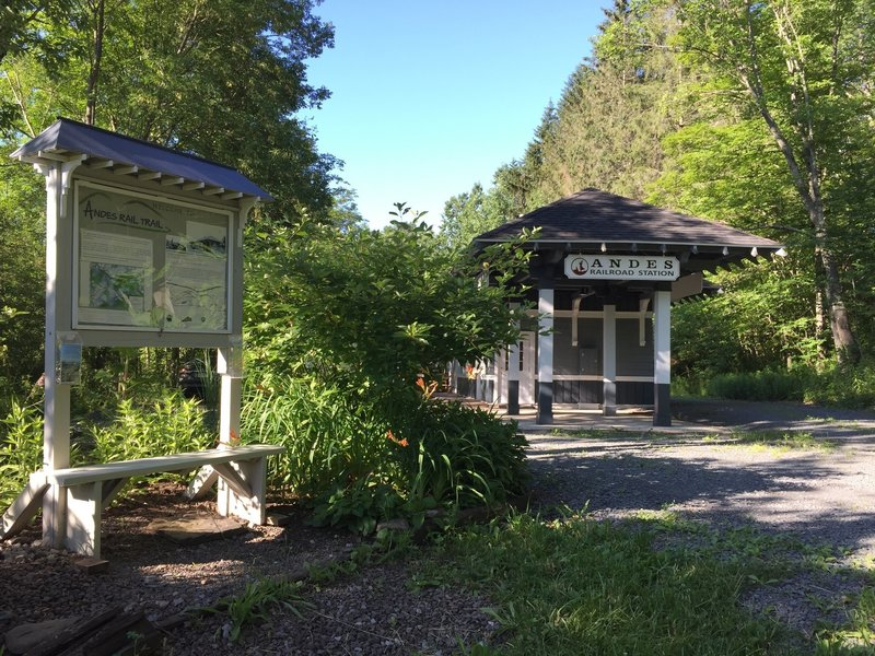 Old Train Depot and Parking Lot
