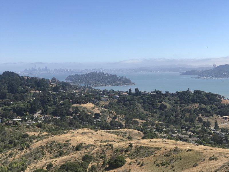 San Francisco, Tiburon and the Golden Gate Bridge