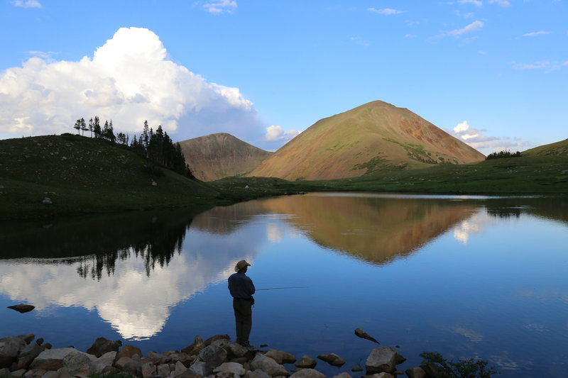 American Lakes is a popular destination for fly fishing.