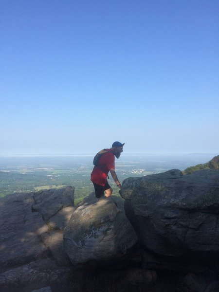 Going higher on Annapolis Rocks