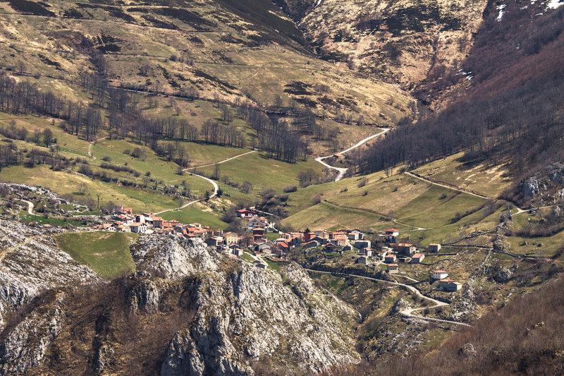 Sotres, Picos de Europa, Asturias, Spain