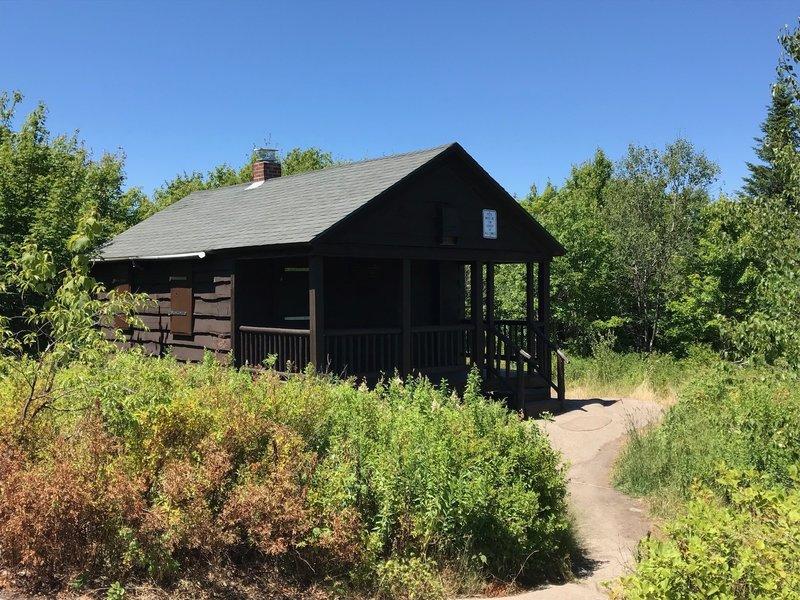 Caretaker's cabin at summit of Mt Arab
