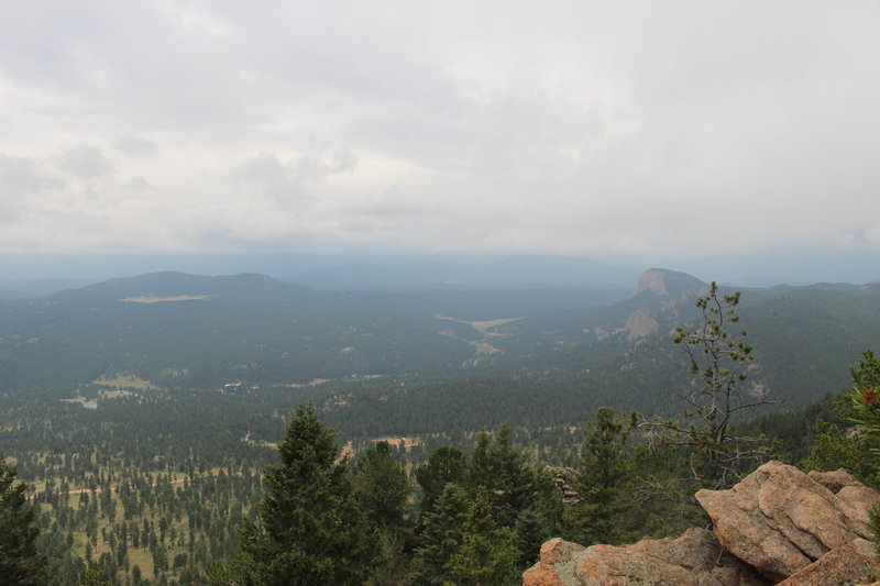 View from Catamount Scenic Overlook on the Bear Paw Trail