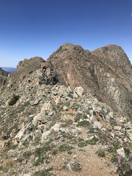 Ridgeline of North Twilight Peak