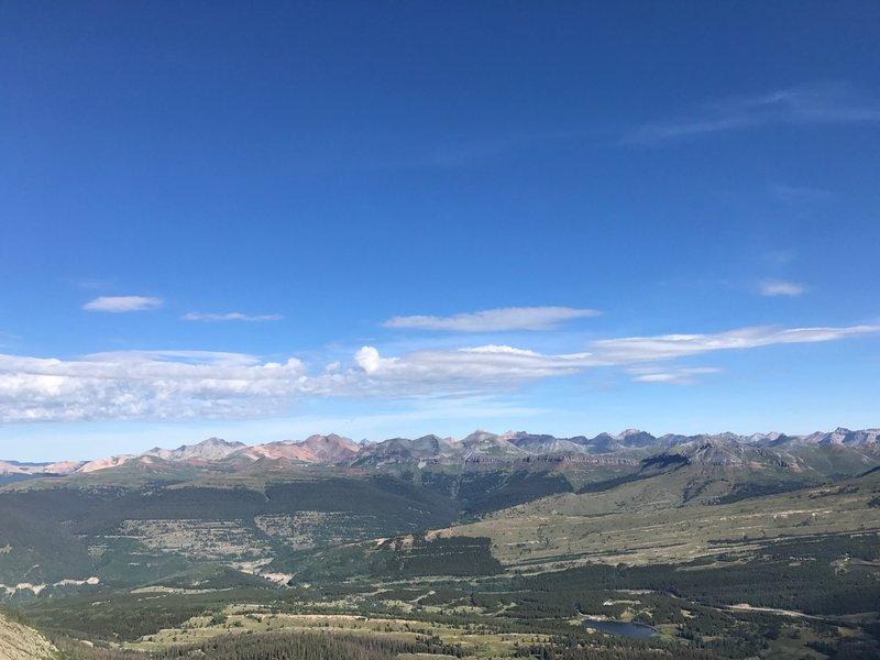 View from Snowdon summit