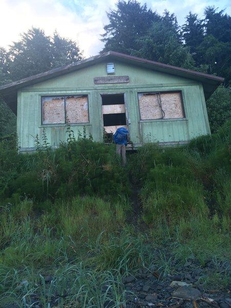 The Makah-Ozette Ranger Station.