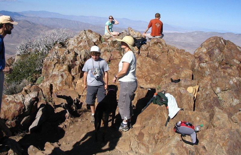 Summit of Garnet Peak