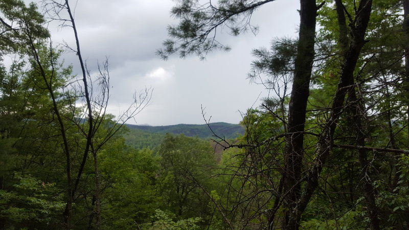 Mountains from the HQ trail