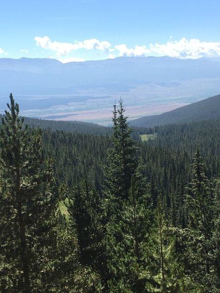 The vista towards the back half of Segment 10