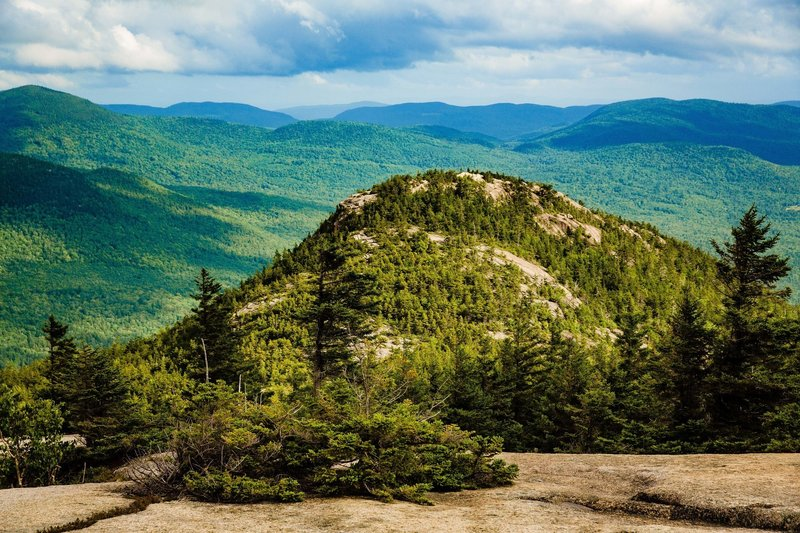 Looking back on Welch Mountain