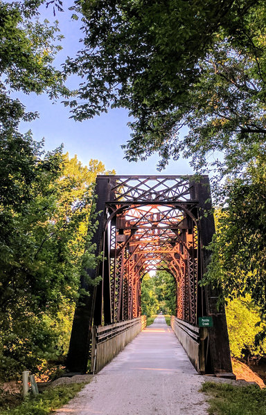 Perche Creek Bridge - Katy Trail - Columbia, MO