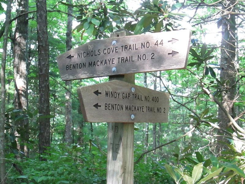 Windy Gap Trailhead