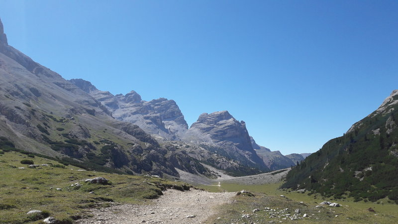 trail near Malga fanes