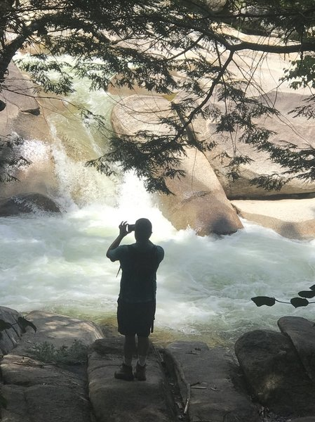 Franconia Falls - just off the path