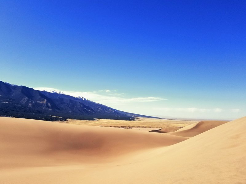 High Dune Trail - Great Sand Dunes National Park