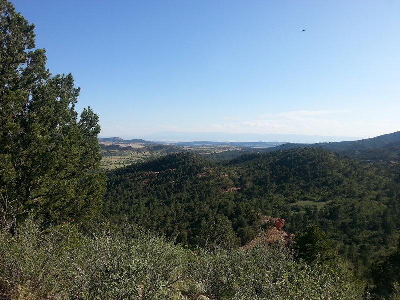 """Views for days, on top of """"lookout"""" spur trail"""