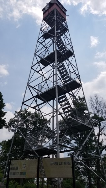Copperhead Fire Tower.