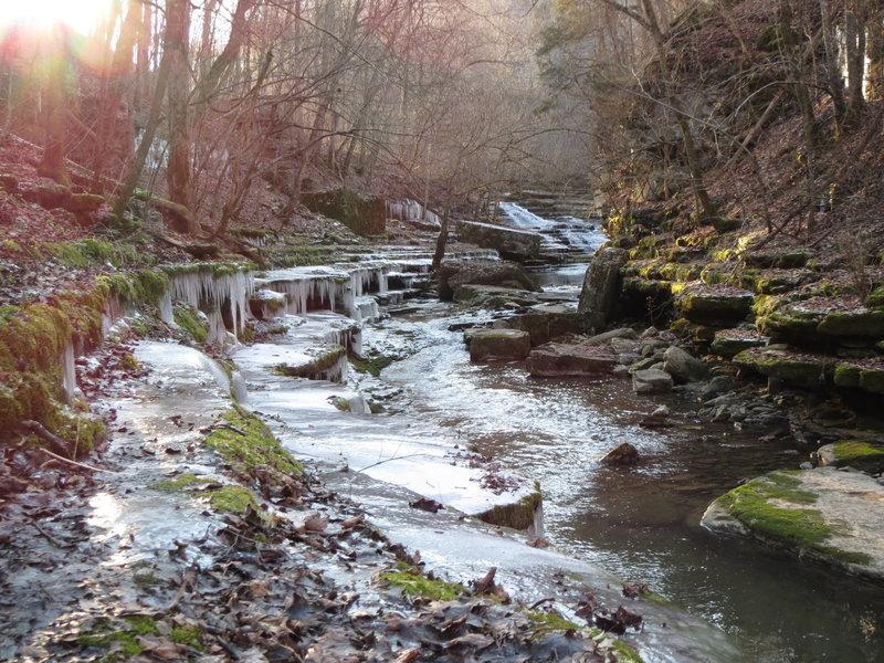 Raven Run, Evans' Mill
