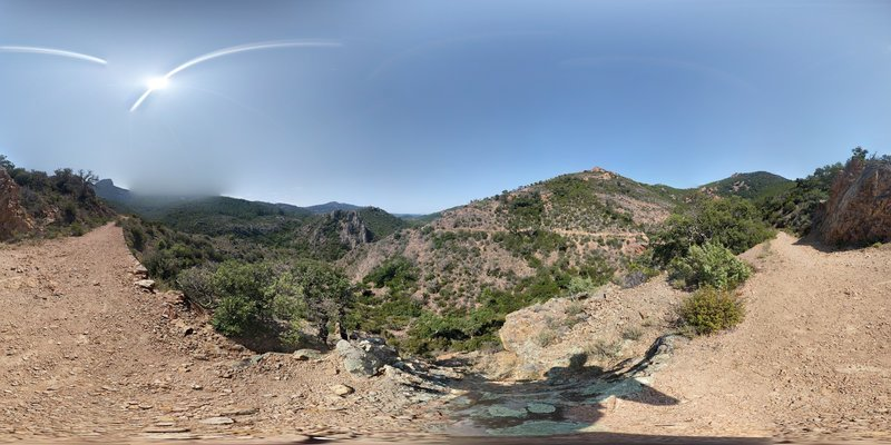 vue 360 du ravin du Gradatis