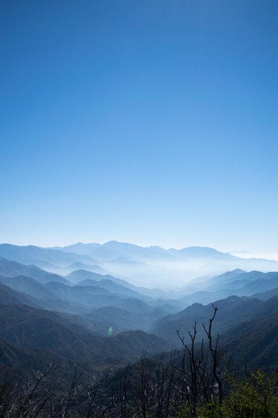 View from San Gabriel peak