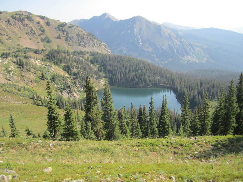 Bowen Lake from the Blue Ridge Trail.