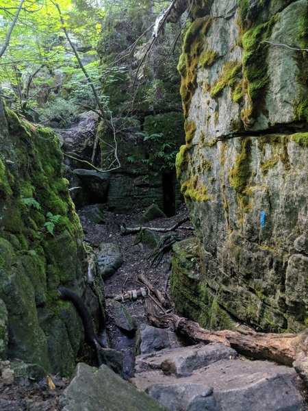Standing Rock and Caves sidetrail