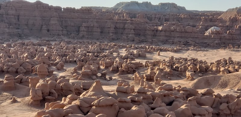 The Goblin Valley - Seem to be a lot less Goblins then when I visited 10 years ago