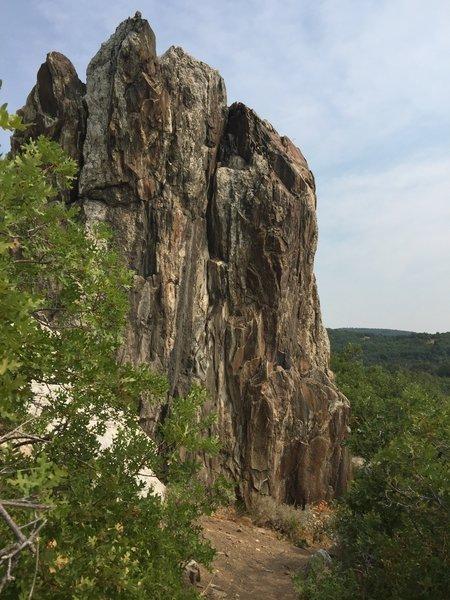 El Cap Rock.