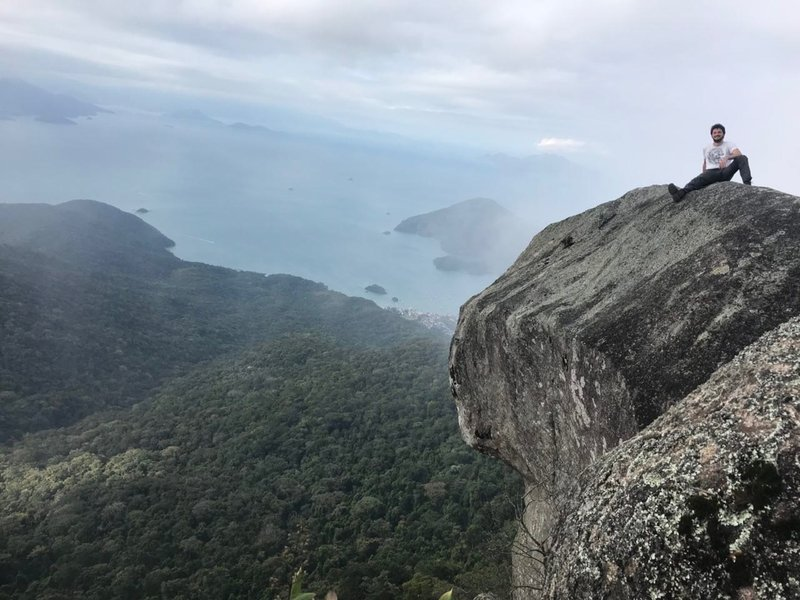 Parrots Head looking down on Abraao