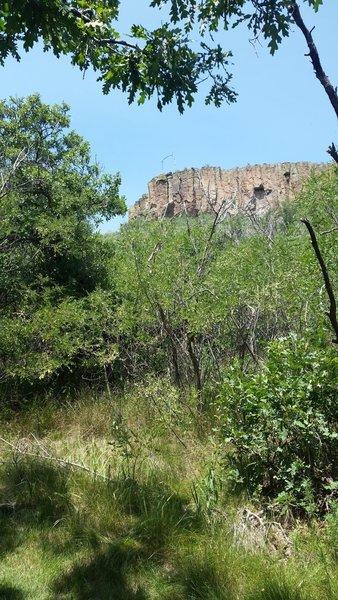 Little Horse Mesa from the Ponderosa Ridge Trail