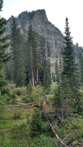 Mt Gog overlooking White Pine Lake