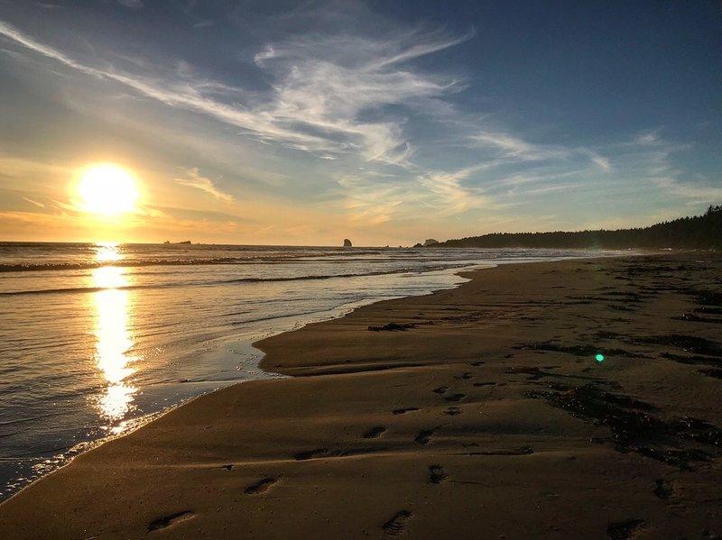 Sandy beaches nearing the Yellow Banks