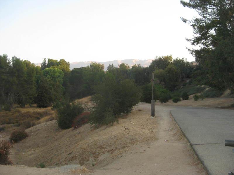 Park entrance path