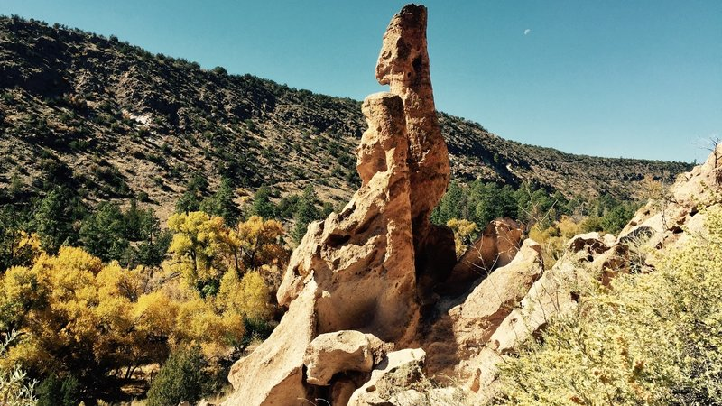 Bandelier is beautiful in the fall.