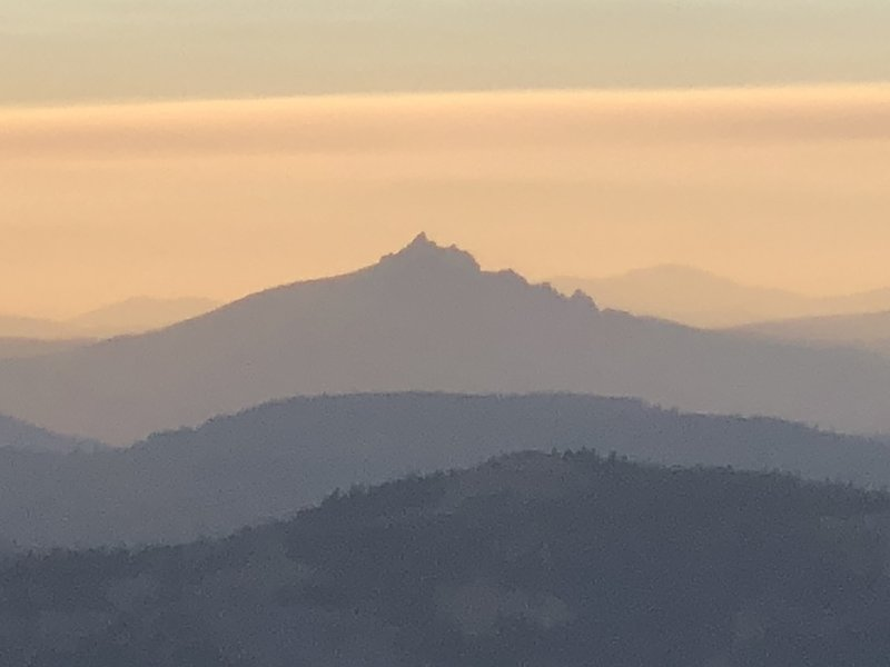 Sierra Buttes, as seen from Mount Lola.