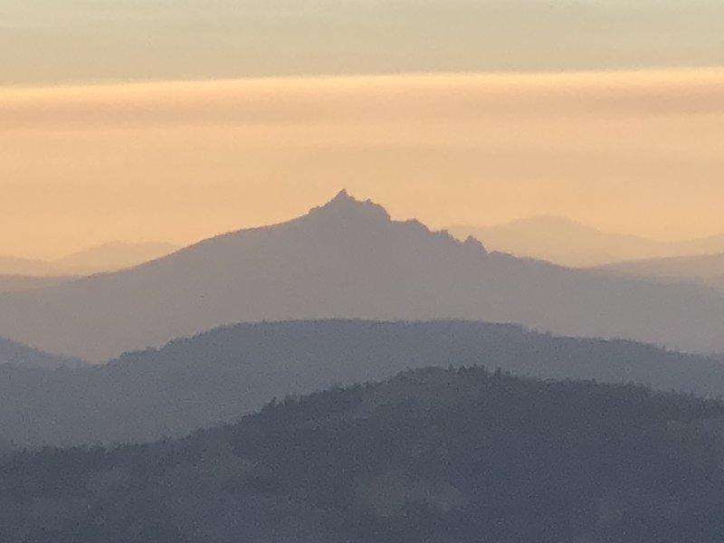 Sierra Buttes, as seen from Mount Lola.