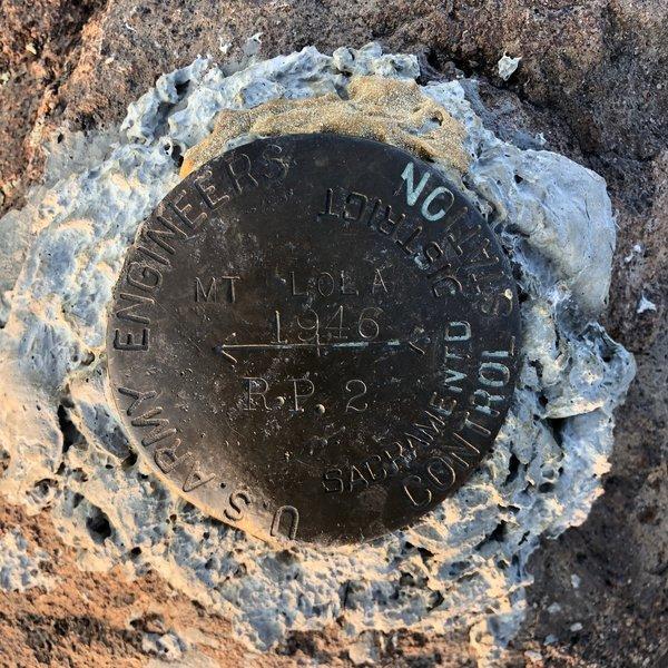 Mount Lola Summit Benchmark