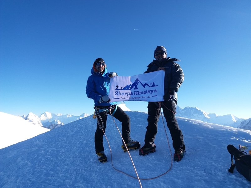 Mera Peak (6476m) Nepal.