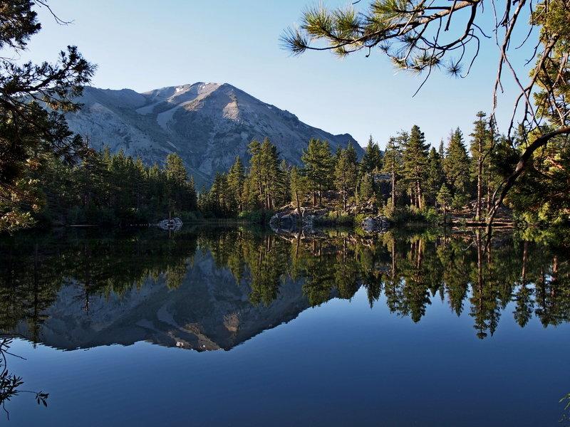 Secret Lake at dawn