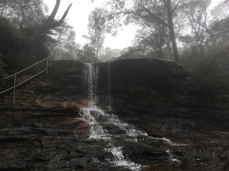 An awesome waterfall - Unfortunately the picture does not do it justice