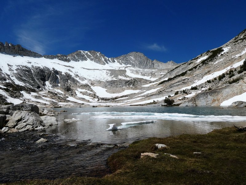 Lowest of the Conness Lakes
